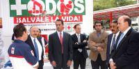 Cruz Roja Mexicana, Escudería Telmex y la FIA acuerdan trabajar juntos para reducir los accidentes automovilísticos