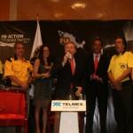 Jean Todt con sus fans mexicanos